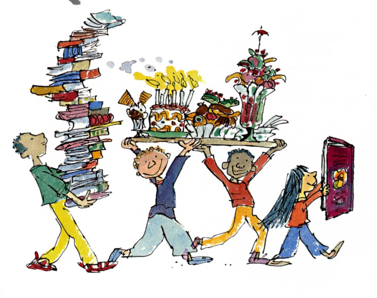 Happy Birthday, Sir Quentin Blake